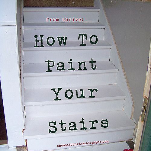 Best How To Paint Horrible Particle Board Stairs This Weekend 400 x 300
