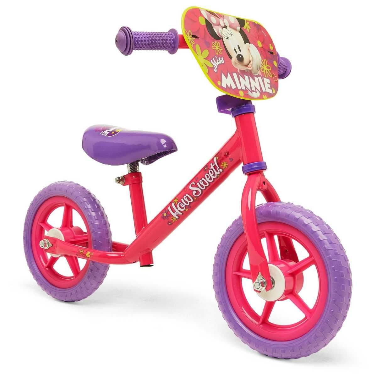Minnie Mouse Balance Bike Big W Balance Bike Bike Kids Bike