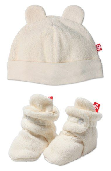 30bdc7d9e3c Free shipping and returns on Zutano  Cozie  Hat   Bootie Set (Baby) at  Nordstrom.com. A little fleece hat with adorable teddy bear ears and  matching ...