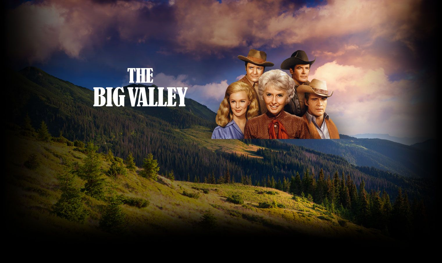 Image result for the big valley tv poster