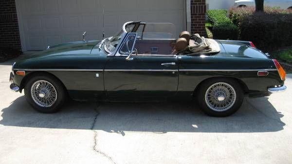 1971 MGB Convertible - $3500 Jacksonville, FL #ForSale # ...