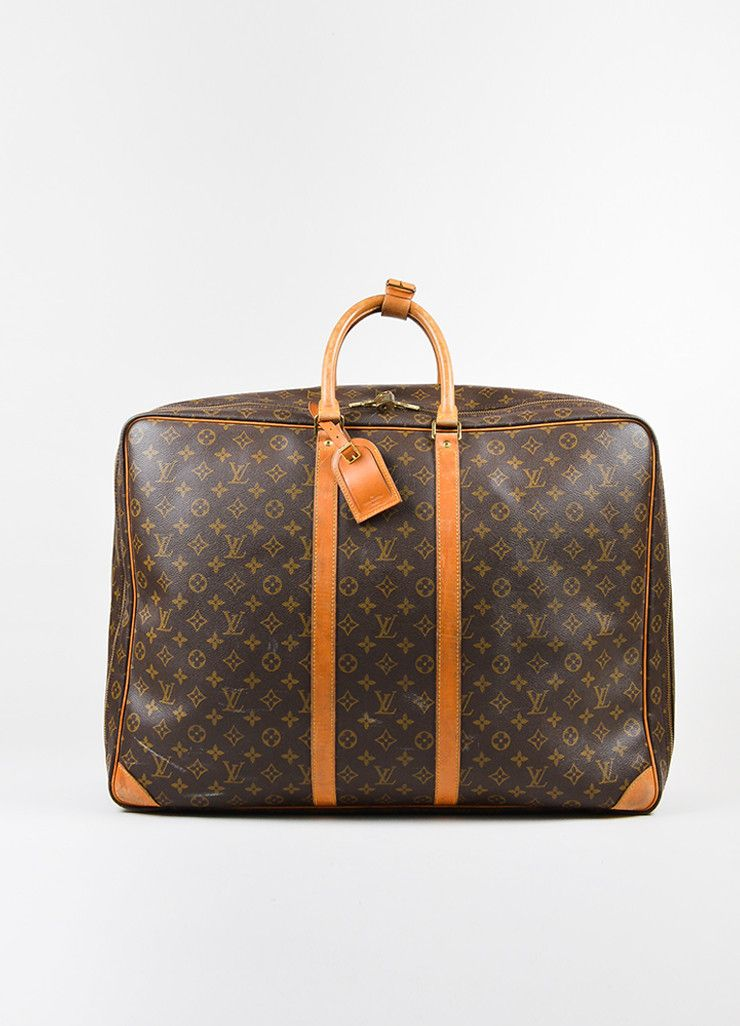 Vintage suitcase released around 1992. Travel in style with this ultra chic Louis  Vuitton