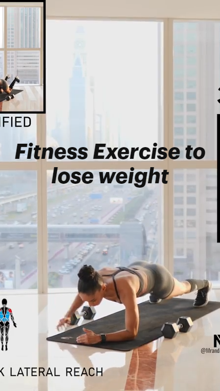 Explore More Fitness Exercise to lose weight & Visit our profile to know more