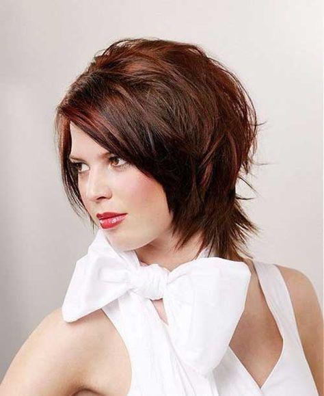 20 Chic en capas cortes de pelo corto //  #capas #Chic #Cortes #corto #pelo