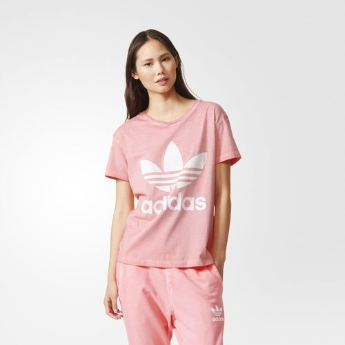 Camiseta Premium Essentials - Peach Pink adidas |