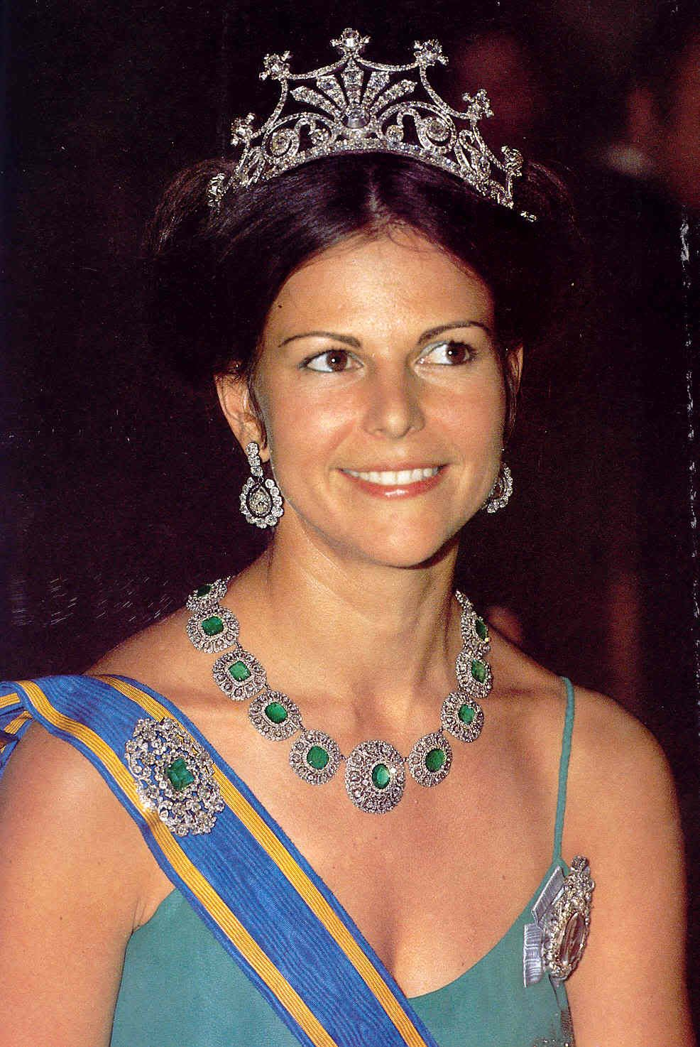 #Swedish Royal Family #Queen Silvia #Tiara | Royals ...