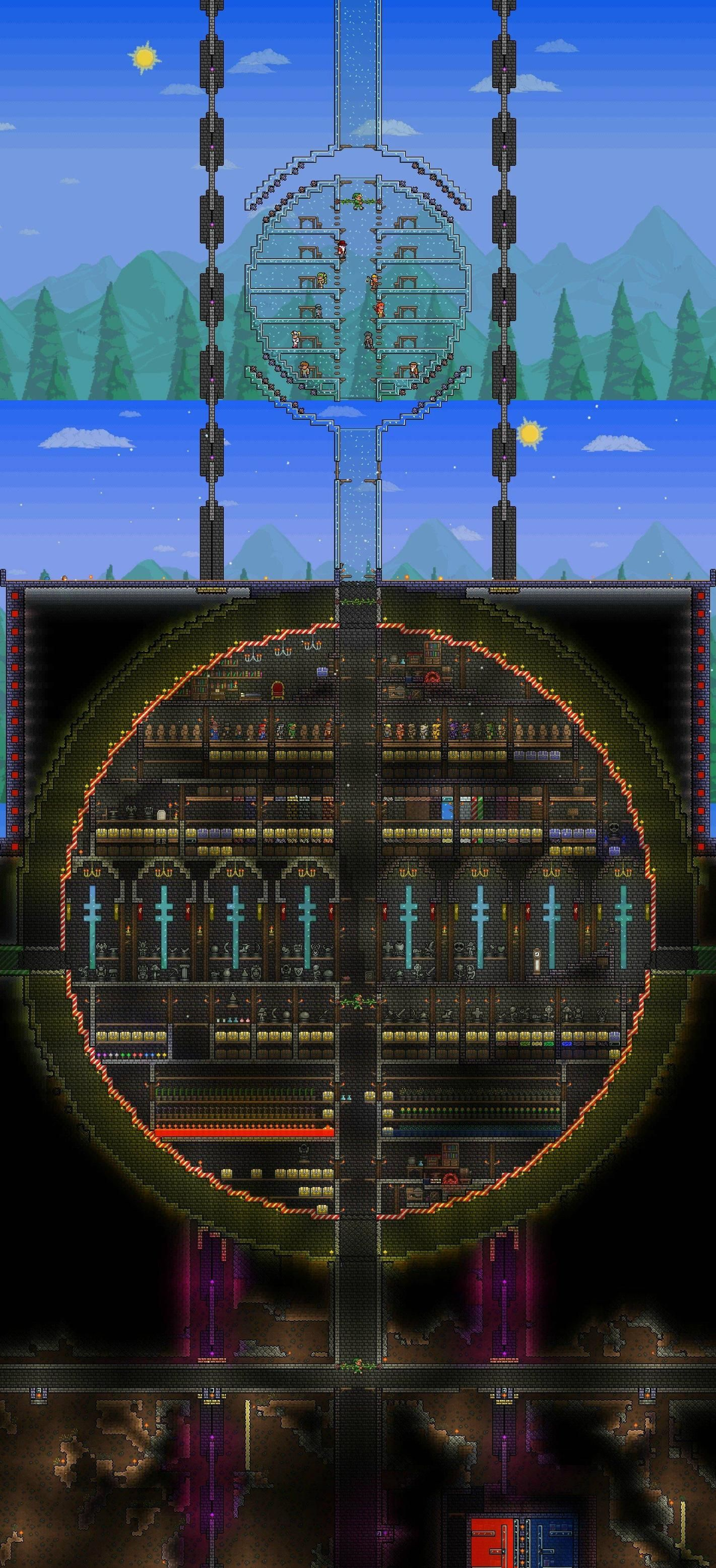 terraria how to build a bed
