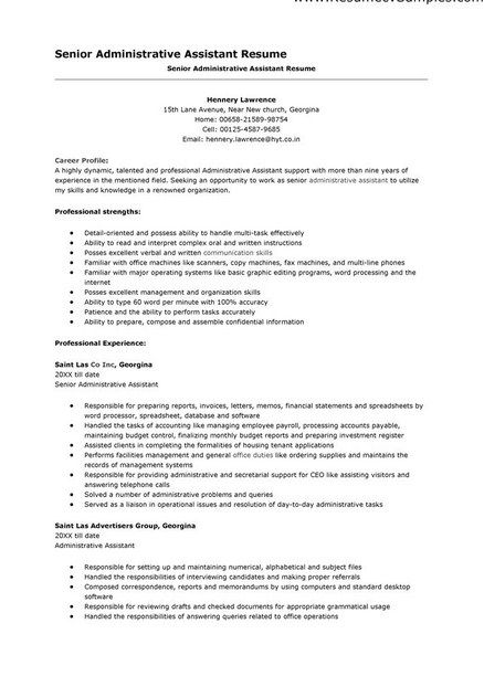 It Resume Templates Microsoft Word  Simple Resume Template