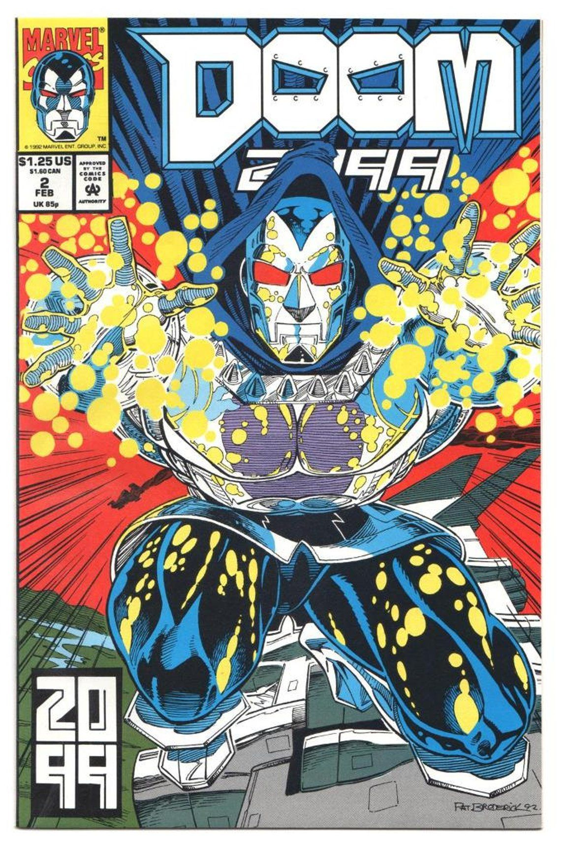 7 Muses Comics doom 2099 - issue's 1 2 3 4 5 6 7 8 - 1993 - modern - nm+