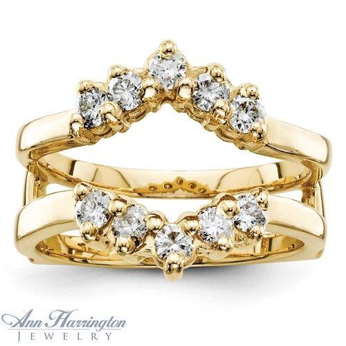 yellow gold 5 stone ring enhancer