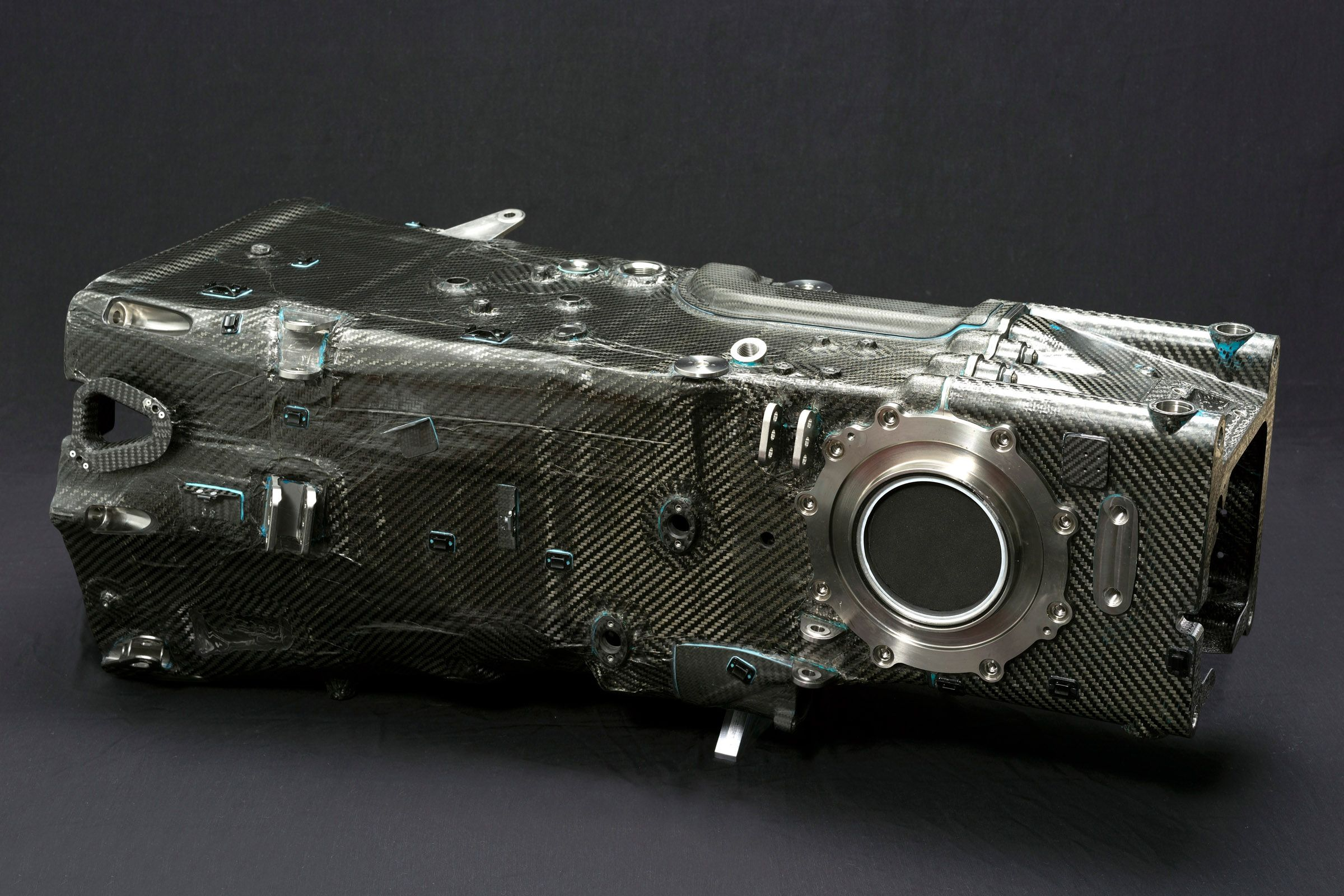 Carbon Fiber Transmission Housing Oh Those Shapes And