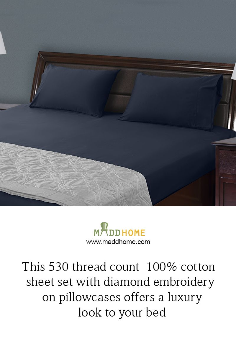 let these simple bed sheets add elegance to your bedroom maddhome