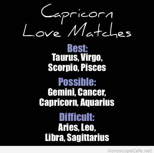 Capricorn & Taurus