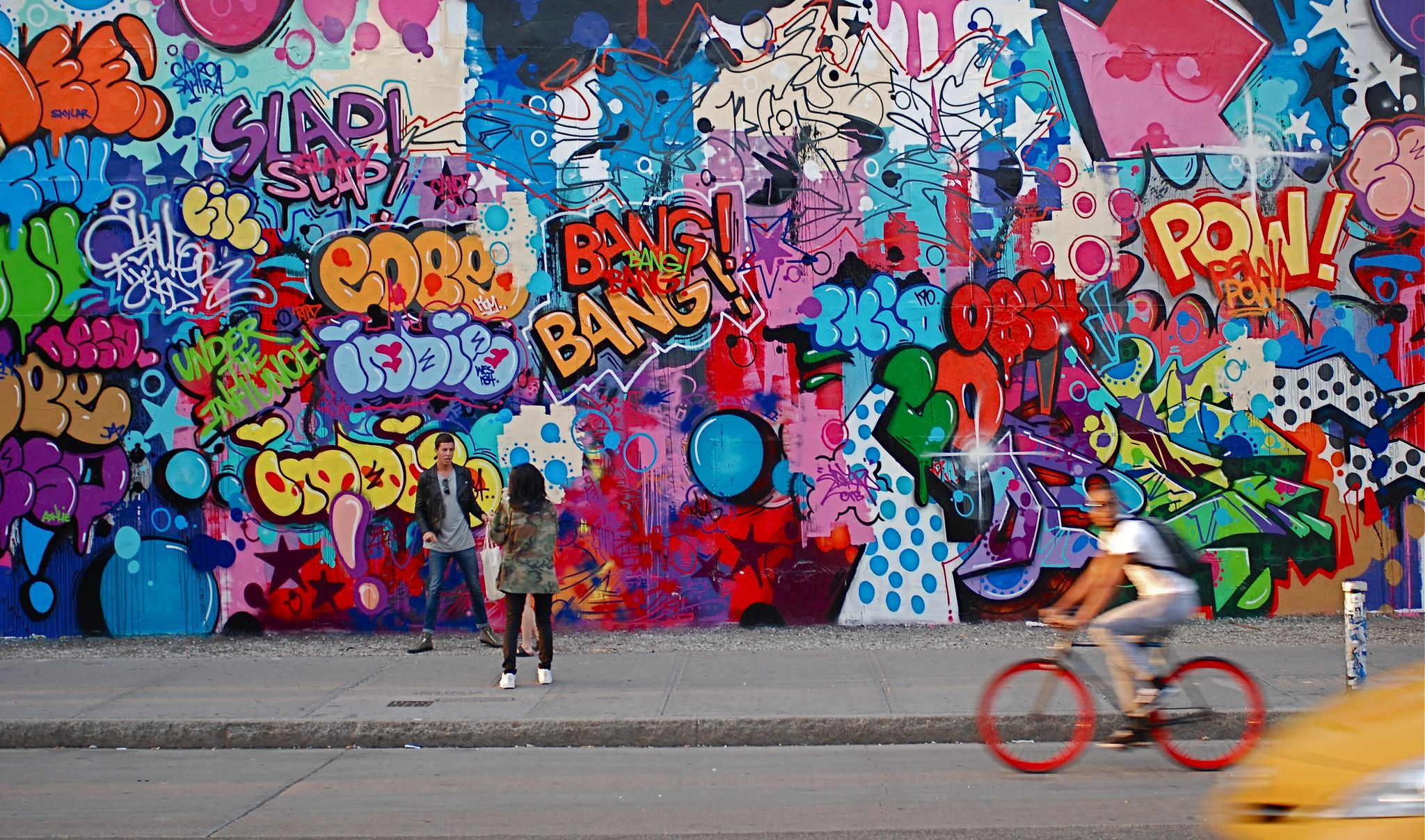 Zimmerwand graffiti nyc  nyc revok and pose mural at bowery and houston graffiti wall