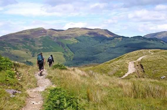 Where: ScotlandLength: 96 milesScotland's premier long-distance hiking trail starts in Milngavie, ab... - West Highland Way