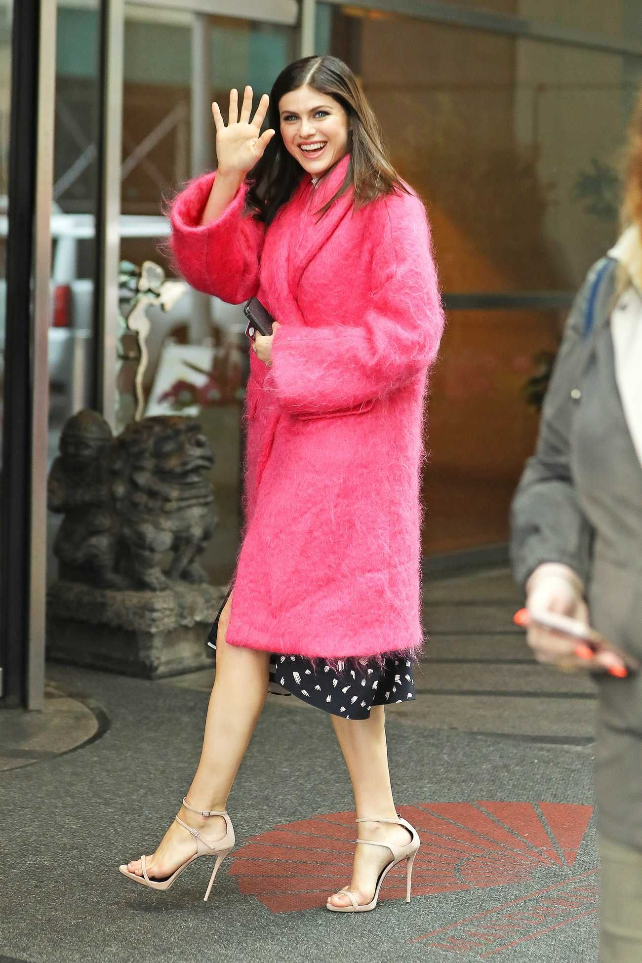Alexandra Daddario - In New York on May 22 | Celebrity Street Style ...
