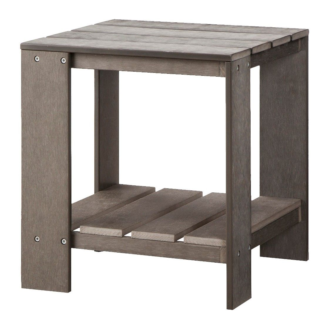 Threshold Bryant Faux Wood Patio Adirondack Accent Table ...