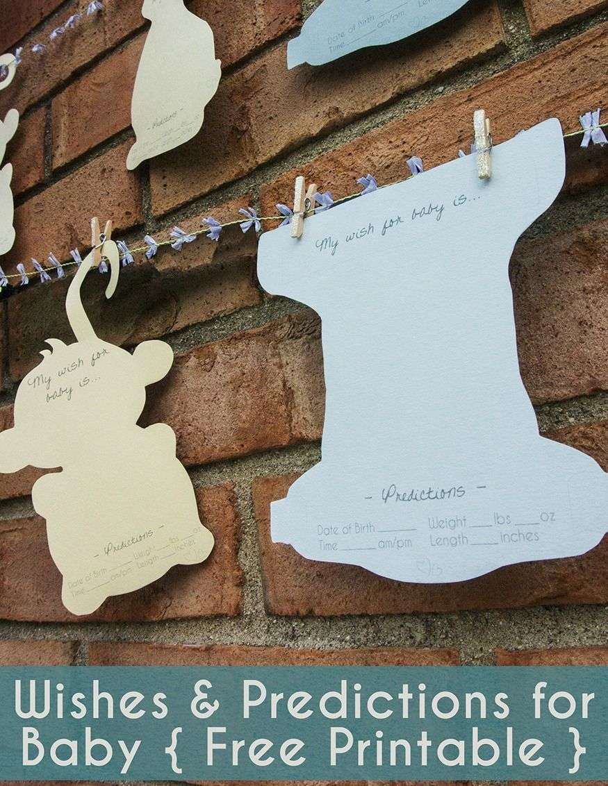 """A fun way to invite guests to give the mother-to-be advice, well wishes, and more! This useful """"guest book"""" is a perfect keepsake!"""
