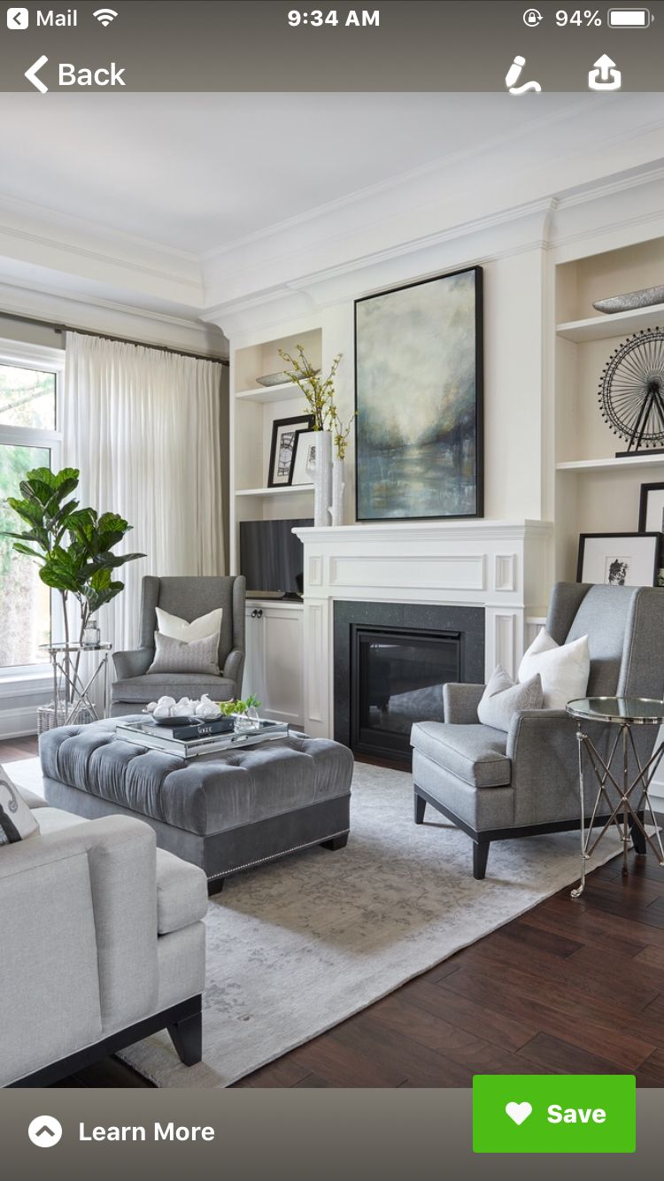 Transitional Living Room Design: Pin By Daphne McWhirter On Peachtree Road