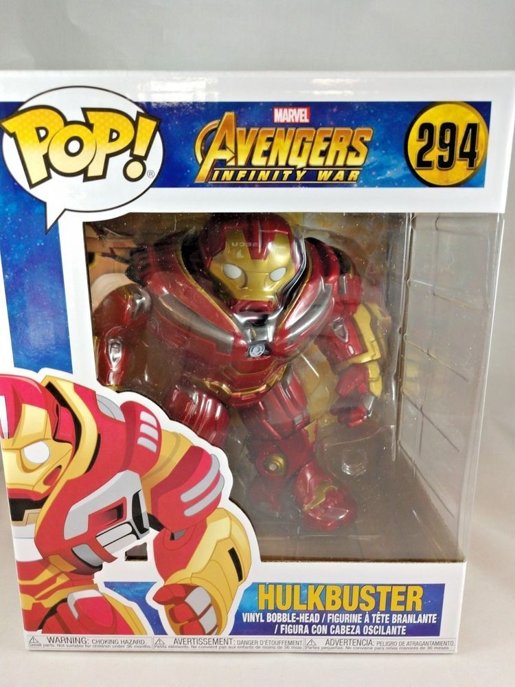 3f6aa6b9011 Avengers  Infinity War Hulkbuster 6-Inch Funko Pop! Vinyl Figure   294   Funko