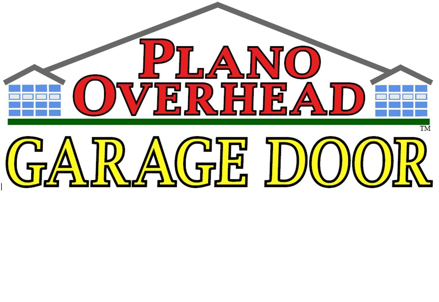 Plano Overhead Garage Door Logo With Images Garage Doors