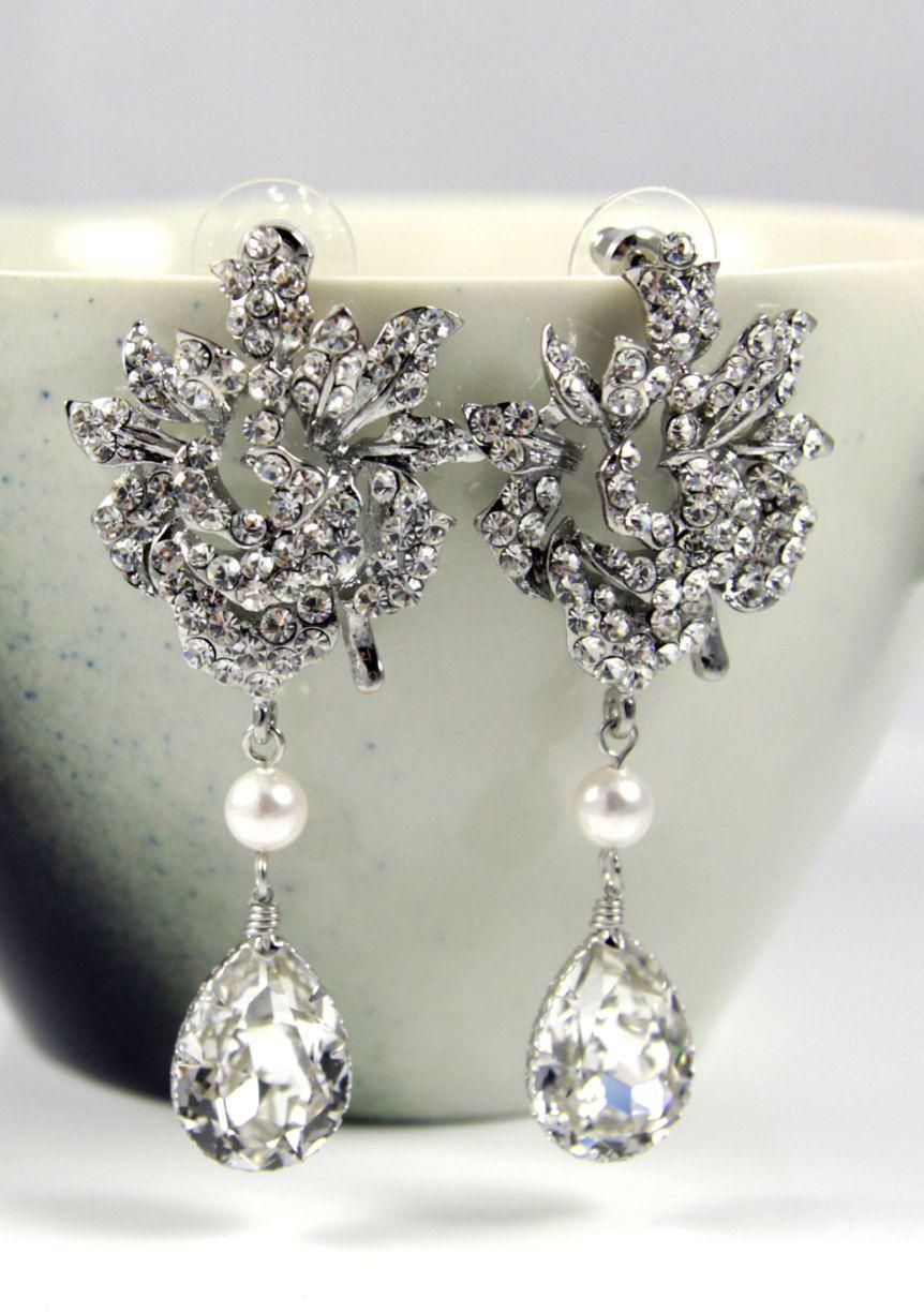 Kandra wedding bridal chandelier earrings for some reason they kandra wedding bridal chandelier earrings for some reason they remind me of got arubaitofo Gallery