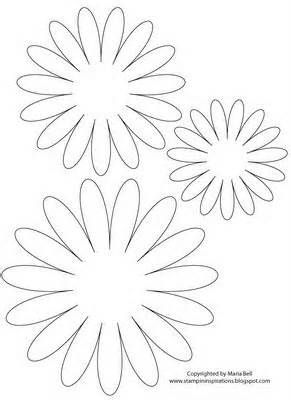 Finally a daisy i like paper flowers pinterest paper flowers flower templates yahoo image search results mightylinksfo