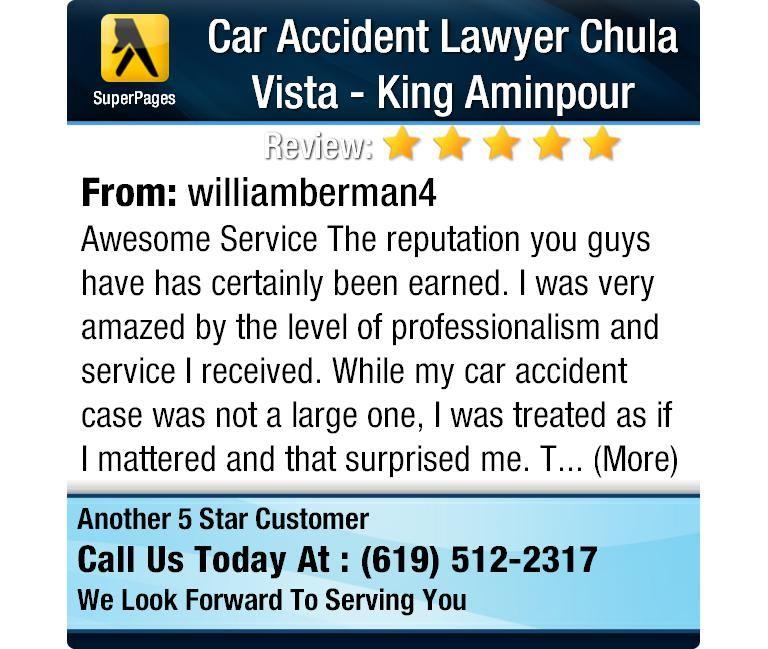 Car Accident Lawyer Chula Vista King Aminpour (kaminpour) on