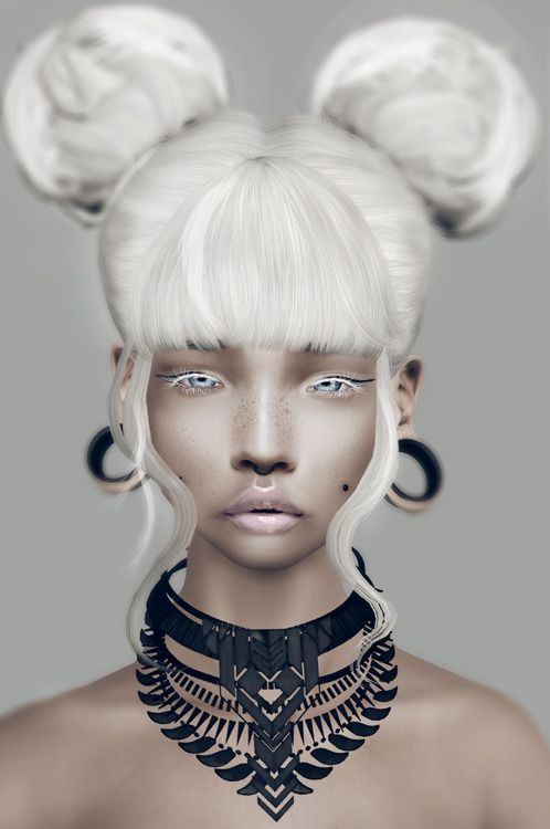 Tribal Necklace by Leah Lillith - Sims 3 Downloads CC Caboodle