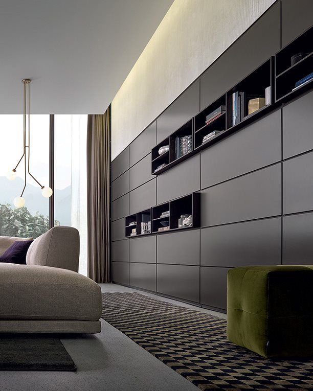 Poliform - Wall System | Librerie | Pinterest | Ceiling, Walls and ...