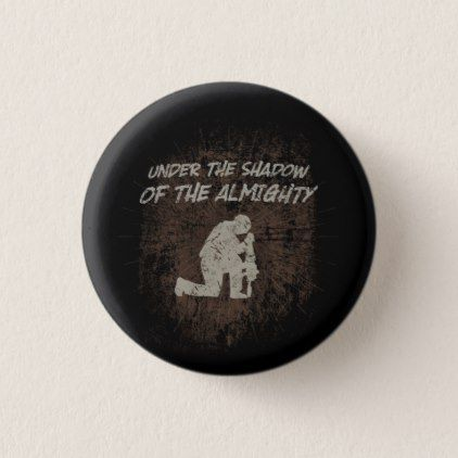 Psalm 91 Soldier's Button - diy individual customized design