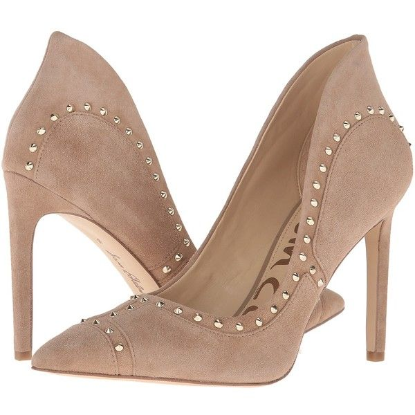 5fc1df43d Sam Edelman Hayden (Oatmeal Kid Suede Leather) Women s Shoes ( 160) ❤ liked
