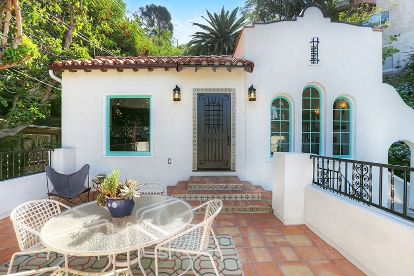Spanish Revival Los Feliz Franklin Hills Mexican Tile Kenihan Development Hunter Flipping Houses House Real Estate