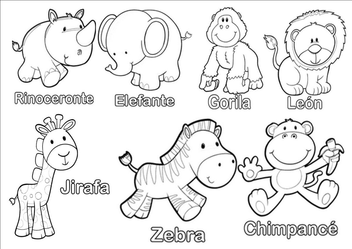 Ayuda Nesecito Animalitos De La Selva Para Baby Shower