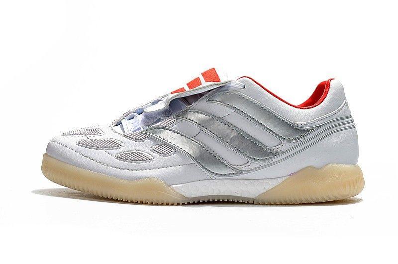 Adidas Predator Precision IC X Beckham White Silver