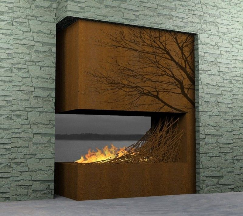 Love. This. Fireplace.