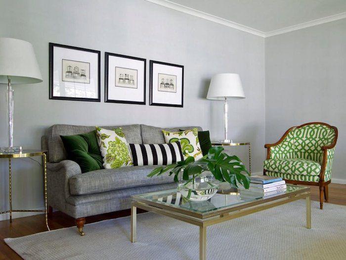 ▷ 1001 + Ideen zum Thema Welche Farbe passt zu grau? - wohnzimmer ideen grau