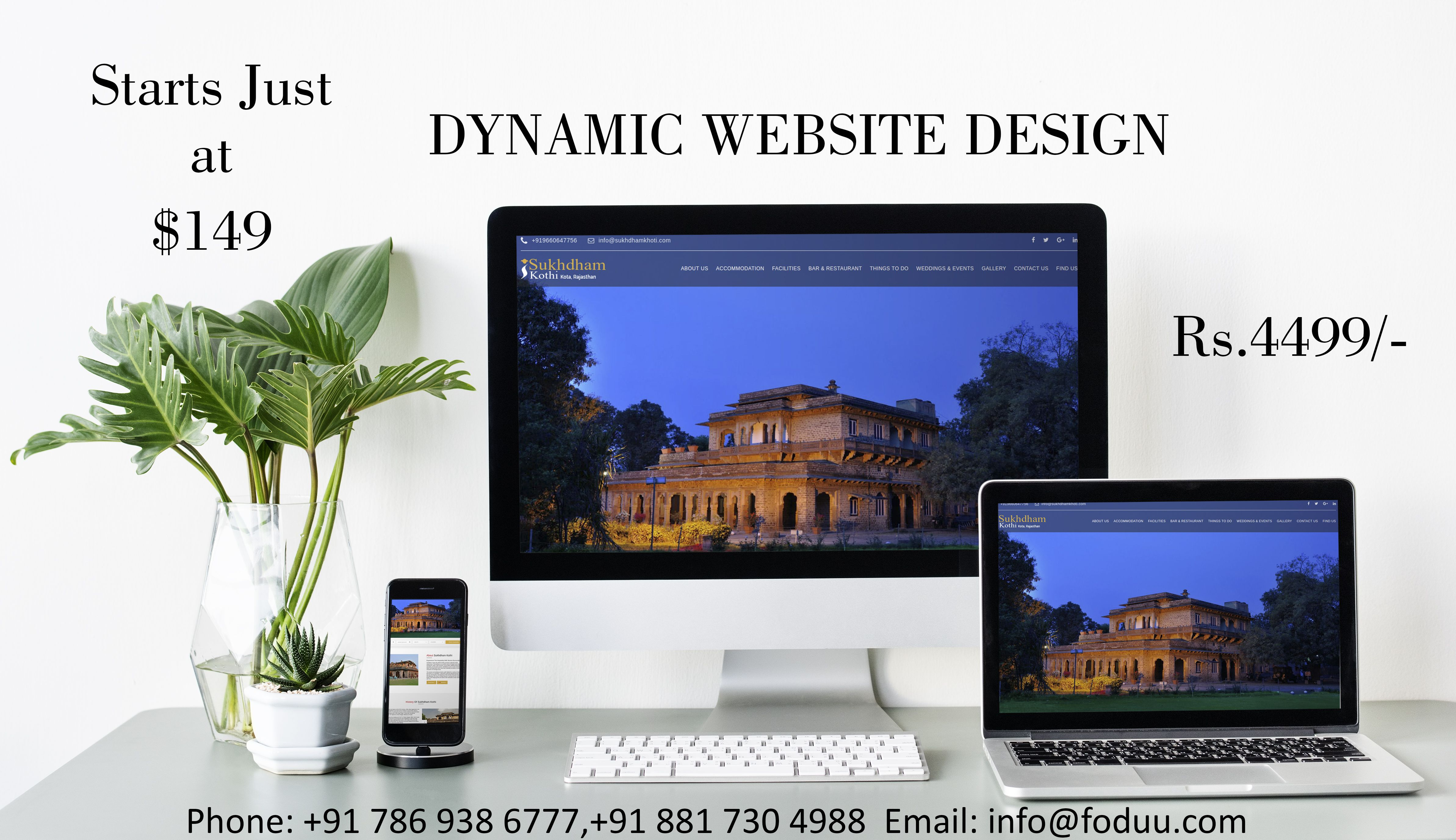 We Provide Dynamic Website Design Development Services To Our Clients At Cheap Prices In India Build Web Design Company Web Development Projects Web Design
