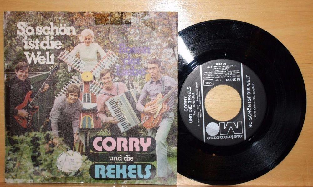 Was Ist Vinyl corry und die rekels so schön ist die welt 7 vinyl metronome pc
