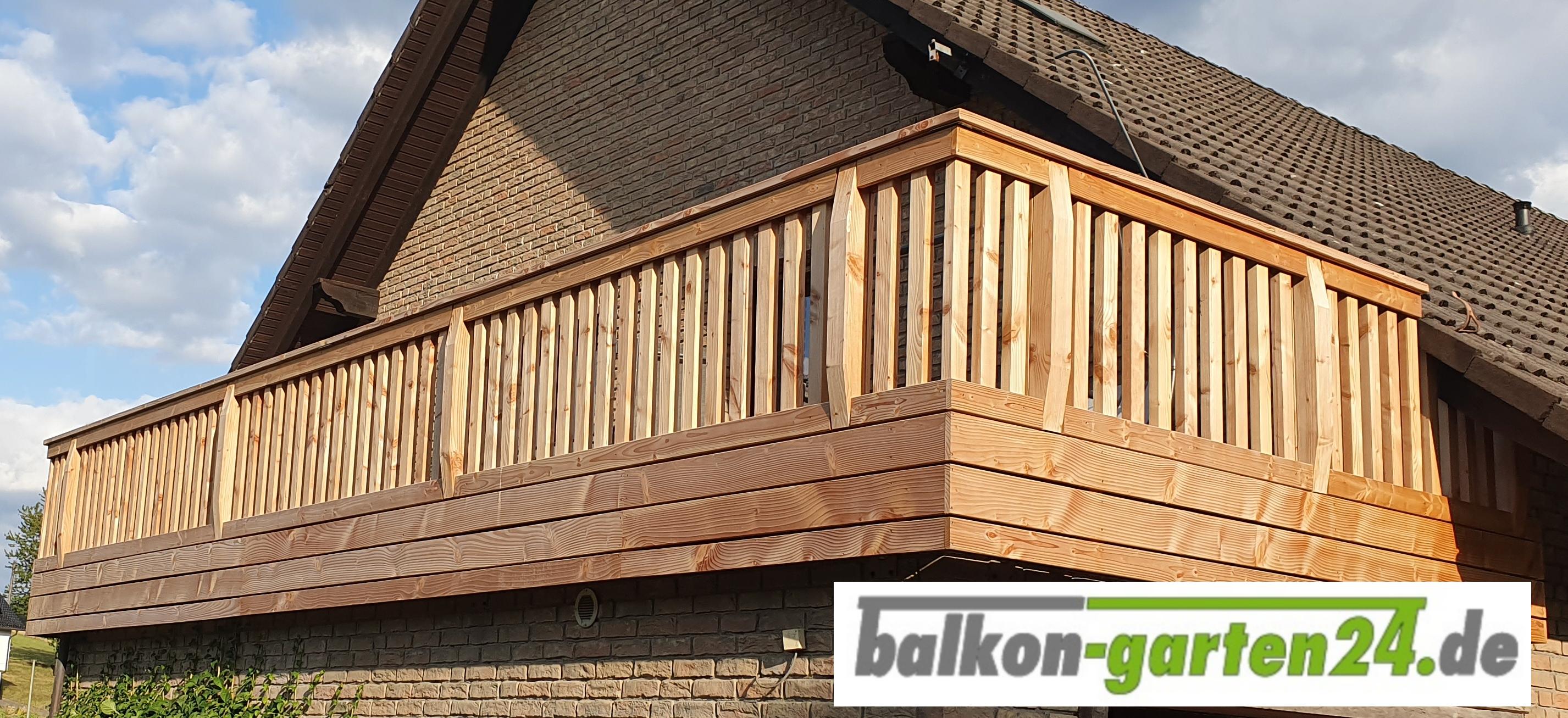 Pin von balkongarten24.de auf Balkongeländer Holz