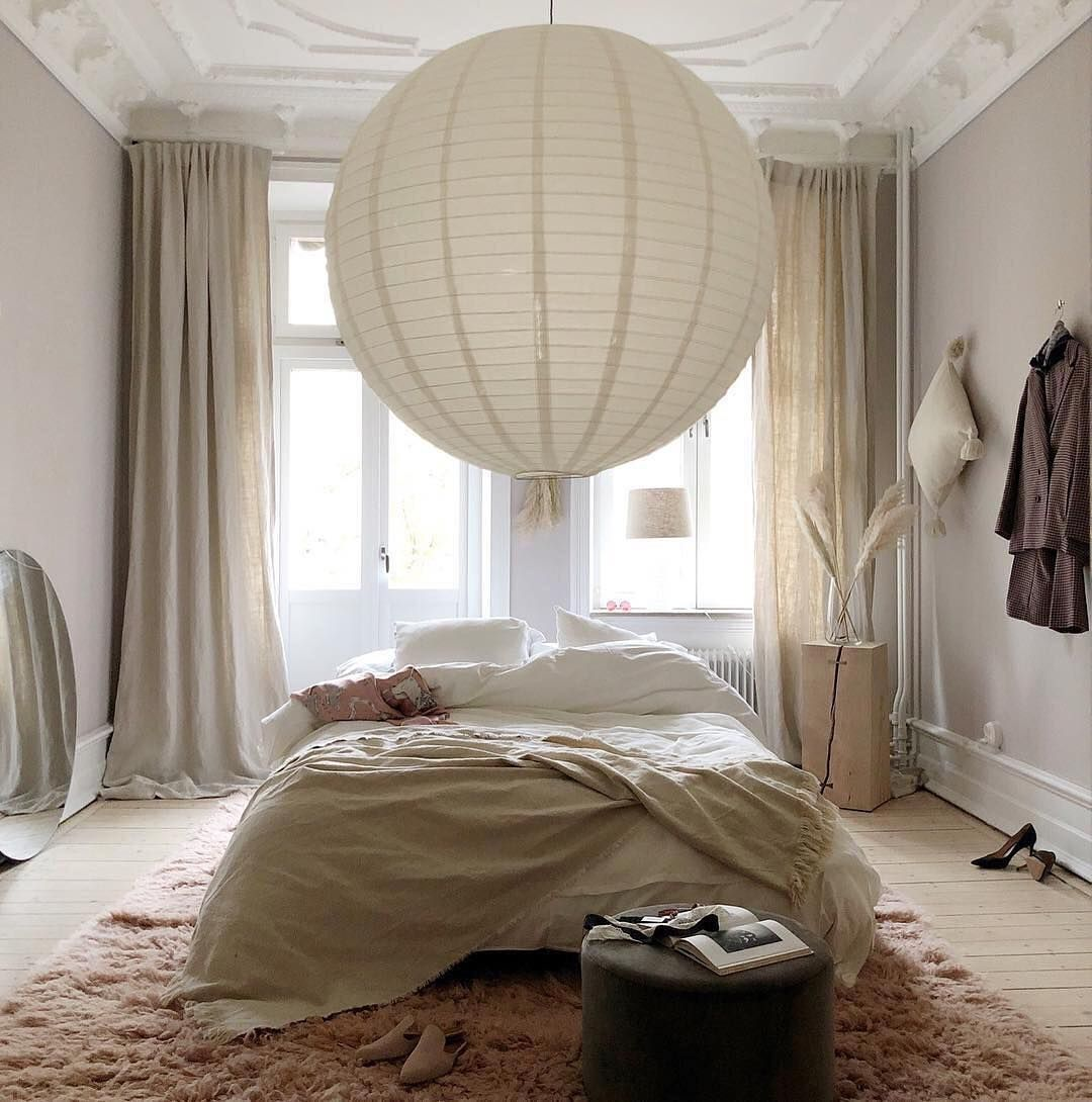 beige cozy bedroom | schlafzimmer inspiration, schlafzimmer
