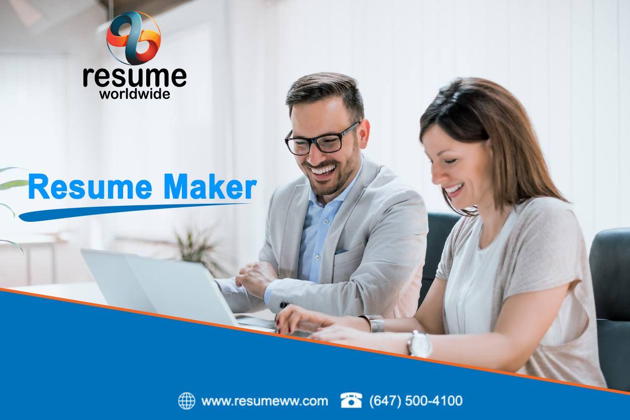 resume maker toronto in 2020