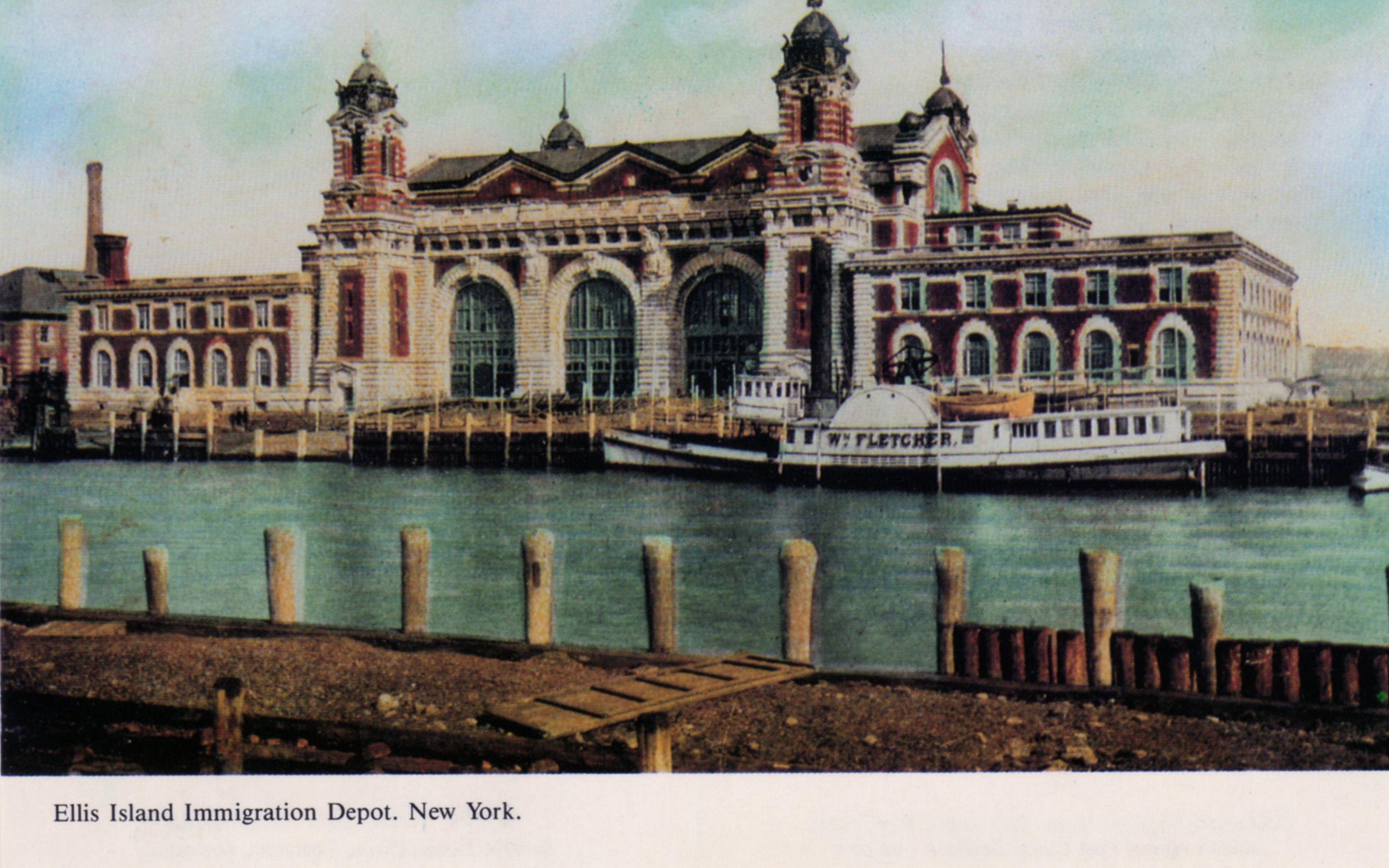 Ellis Island Immigration Depot New York En