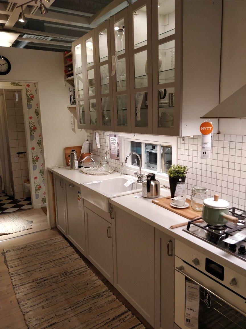 Best Ikea Lerhyttan Konyhaszekrény Studio Kitchen Kitchen 400 x 300