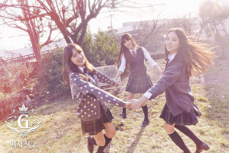 Nuevas fotos teaser de GFRIEND para su regreso con Snowflake