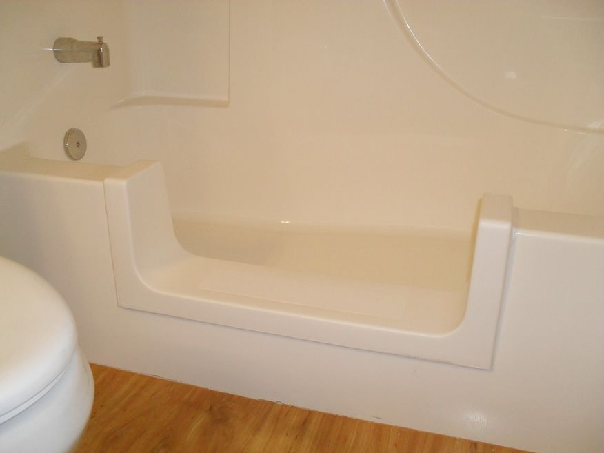 The Safeway Step Is An Affordable Bathtub To Walk In Shower Conversion For