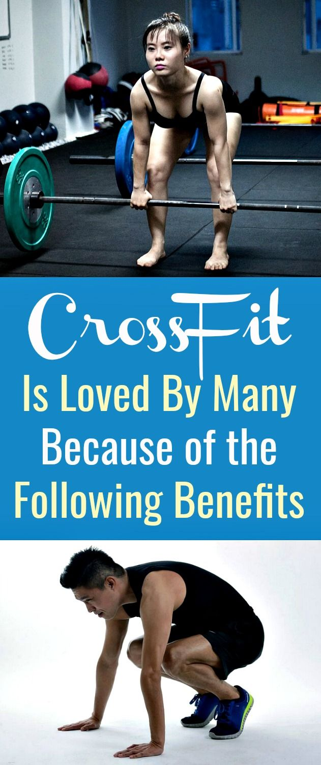 CrossFit Is Loved By Many Because of the Following Benefits - CrossFit is defined as a type of condi...