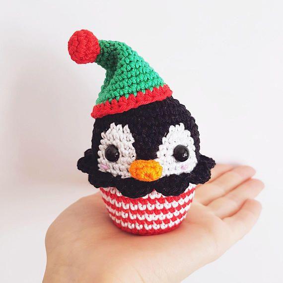 Christmas Cupcakes PDF Pattern amigurumi crochet