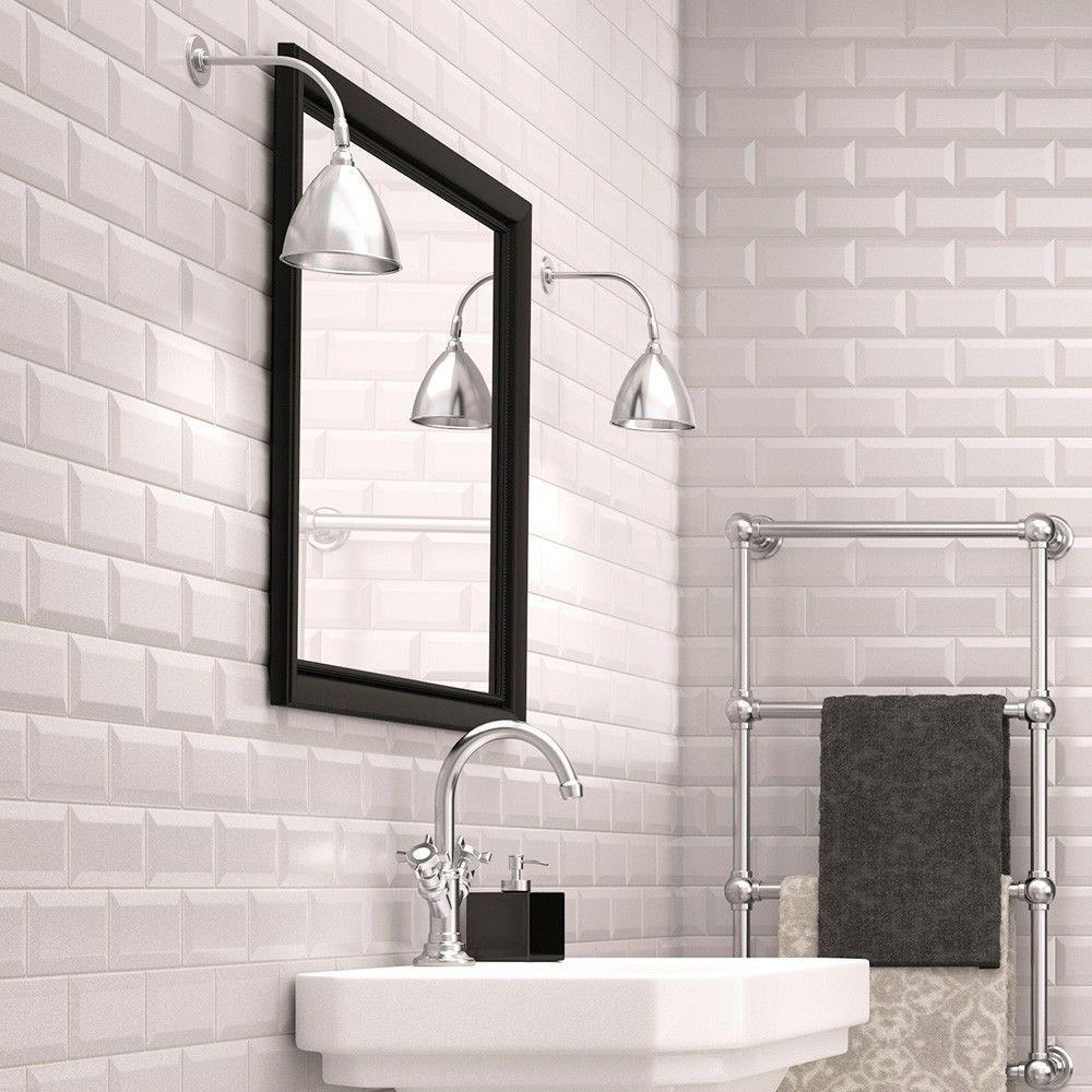 Chalk Farm Matt White Tiles Metro 200x100 Tiles 200x100x7mm Tiles ...