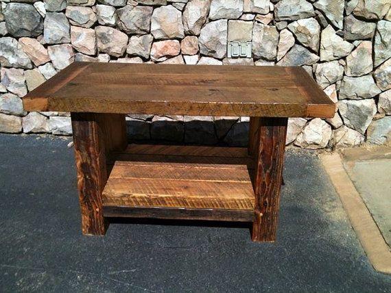 Muebles de madera reciclada por granero superior por BooneBarn ...